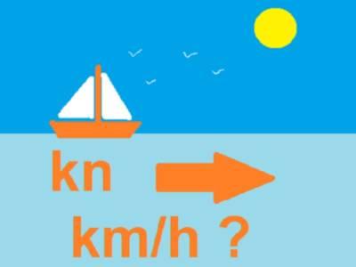 differenza tra km e nodi