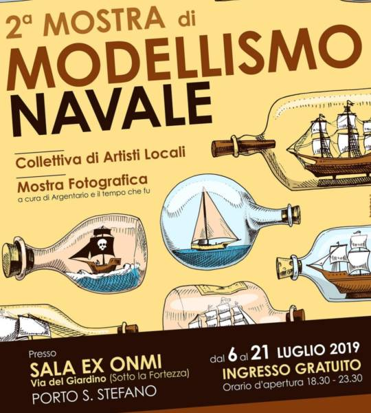 modellismo navale all'Argentario