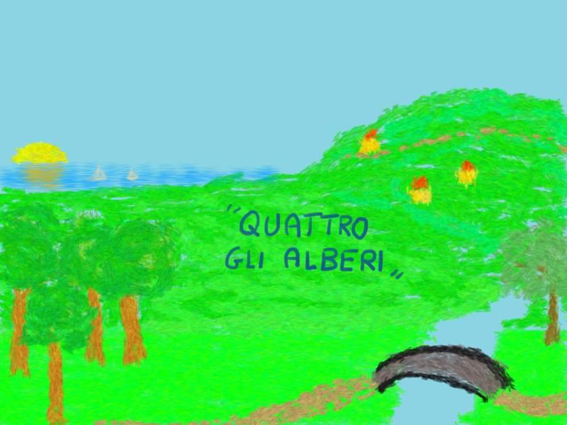 QUATTRO GLI ALBERI di Francesco Palombo