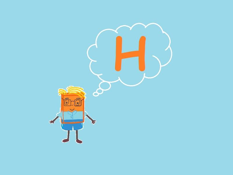 la semplice regola della lettera H