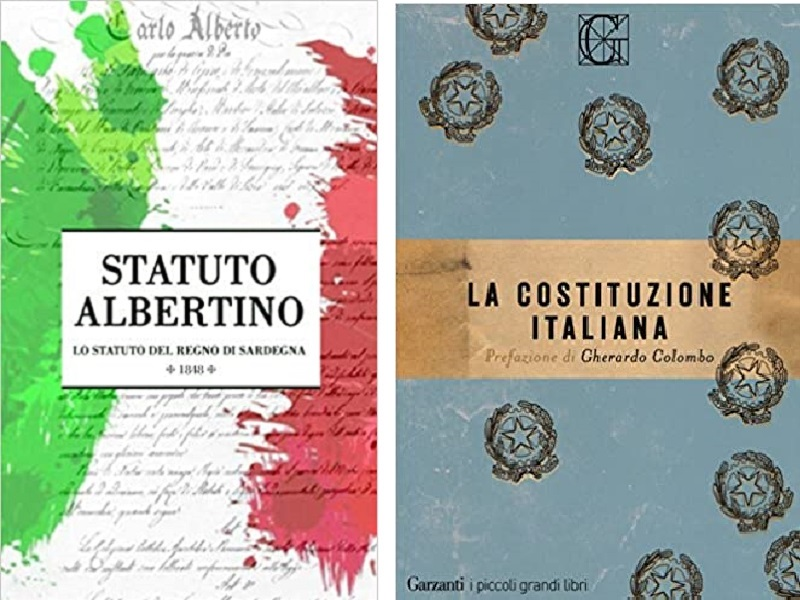 Statuto Abertino e Costituzione Italiana
